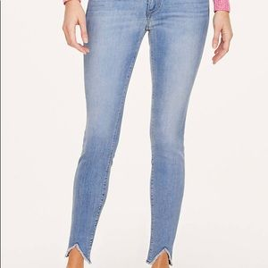 LOFT Curvy Fit Cosmos Ankle Jean